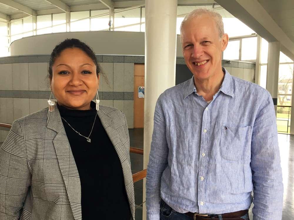 Laure Miambaye Loungoumouka etr Francois Coquet