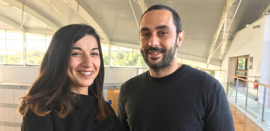 Salima El Kolei et Fabien Navarro,