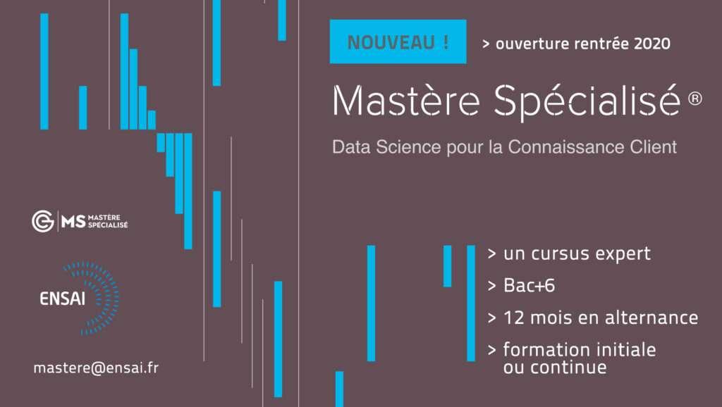 mastere spécialise data science